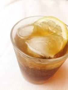 酢生姜のはちみつレモンドリンク