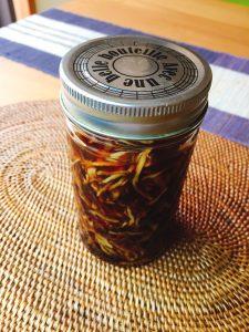 基本の酢生姜