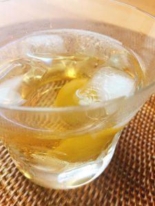 酢生姜の梅酢割り